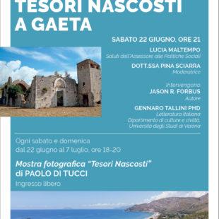 Tesori Nascosti a Gaeta: presentazione del libro