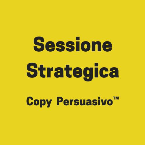 sessione strategica copy persuasivo con andrea lisi
